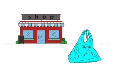 Obchodní řetězce od nového roku končí s plastovými taškami. Nahradí je sáčky z papíru nebo textilu.