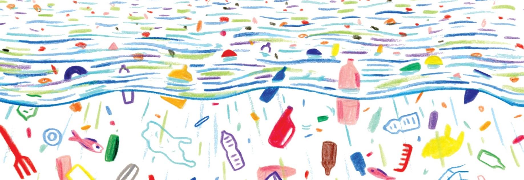 plast v oceánech