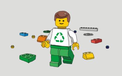 Lego se zbavuje plastů, plastové sáčky nahradí sáčky z papíru