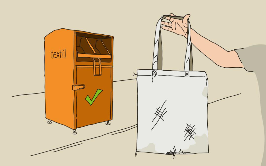 Látkové tašky jsou sice ekologické, ale s ničím bychom to neměli přehánět